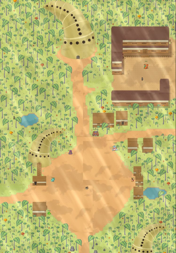 Land of Toad map made by Magatama